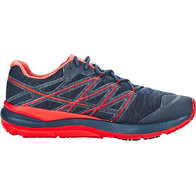 The North Face Ultra Cardiac II Shoes Men Shady Blue/High Risk Red